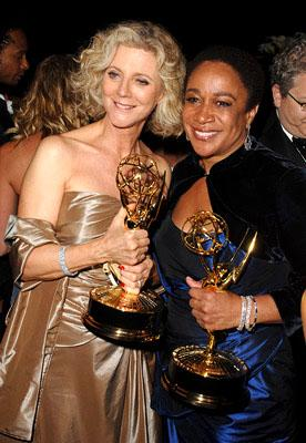 Blythe Danner and S. Epatha Merkerson Governor's Ball Emmy Awards - 9/18/2005