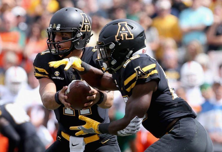 Quarterback Taylor Lamb set a career high in rushing as he led Appalachian State to a second Camellia Bowl victory in a row.