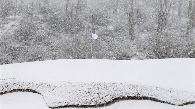 Golf - 'Ridiculous' snow stops play at WGC Match Play