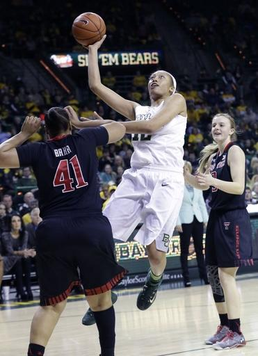 No. 6 Baylor women end regular season 75-65 over Texas Tech