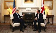 John Kerry Kicks Off First Foreign Tour In UK