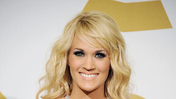 The 55th Annual GRAMMY Awards - Press Room: Carrie Underwood
