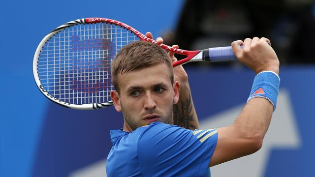 Tennis - Evans reaches maiden semi after Kohlschreiber scalp