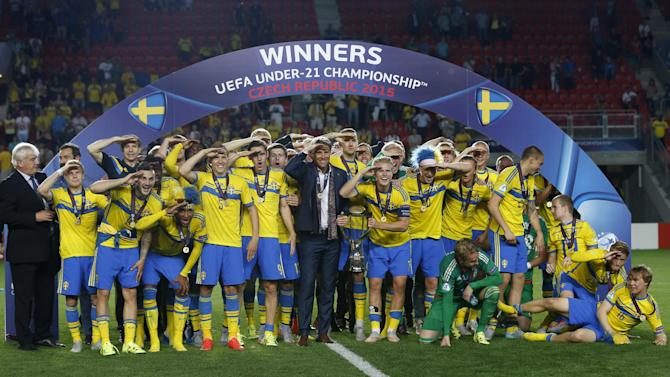 Football - Sweden's Under-21s show there'll be life after Zlatan