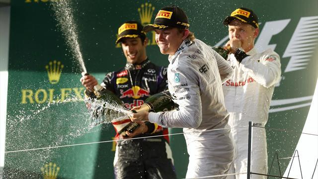 Formula 1 - Rosberg wins as Hamilton and Vettel go out in Australia
