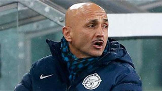 Serie A - Spalletti cools Milan rumours