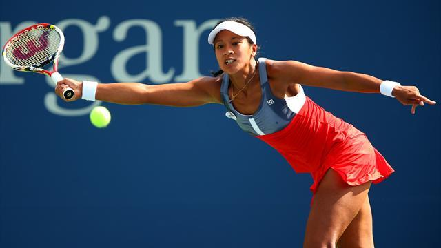 Keothavong wins just two games in Kerber loss