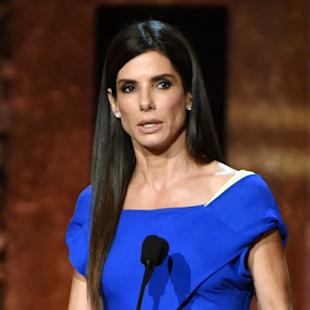 FILE - In this June 5, 2014 file photo, Sandra Bullock speaks at the 42nd AFI Lifetime Achievement Award Tribute Gala in Los Angeles. A man arrested inside Bullock's home last year pleaded not guilty to stalking the actress in a Los Angeles courtroom on Wednesday, May 6, 2015. A judge tentatively set a trial date for Joshua James Corbett for July 6. (Photo by John ShearerInvision/AP, File)