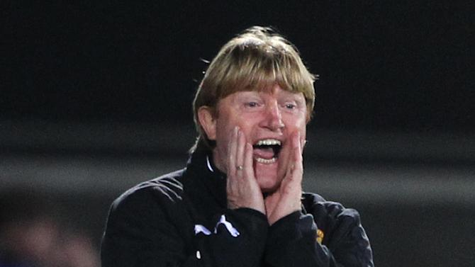 Stuart McCall said his side have to score first in the second leg against Panathinaikos