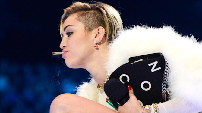 Find Out Miley Cyrus' Response to Pot-Smoking Controversy