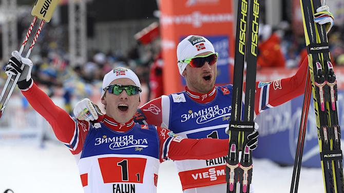 Cross-Country Skiing - Petter Northug notches gold number four in Sweden