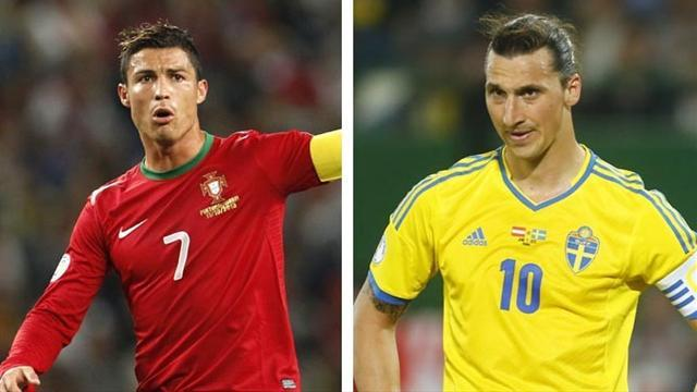 World Cup - Portugal face Sweden in qualifying play-off