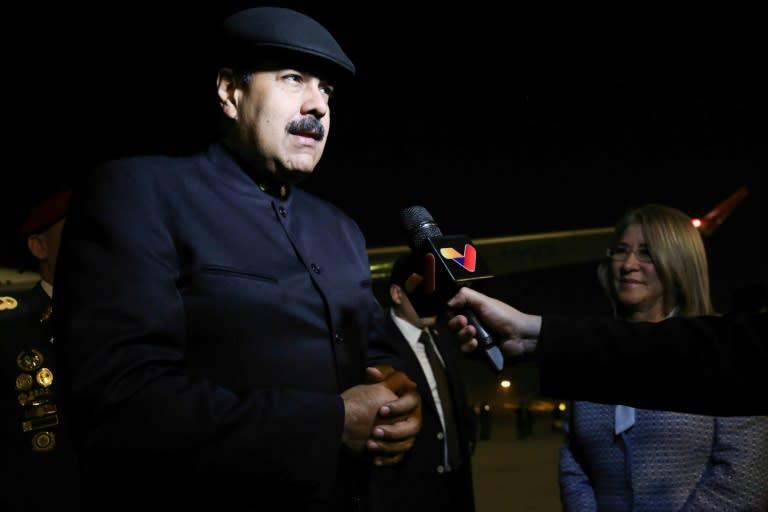 Maduro llega a China en busca de inversiones para Venezuela