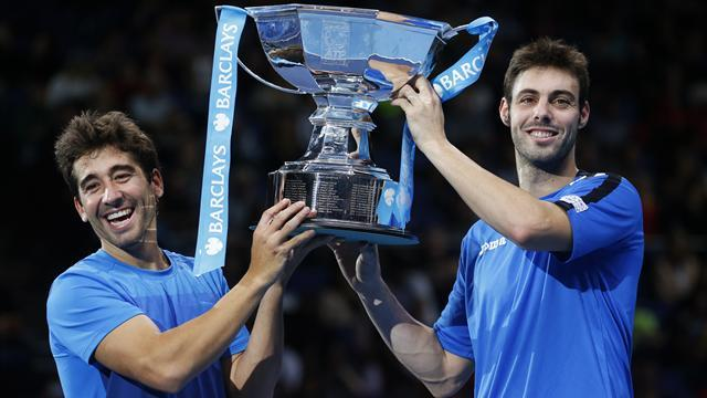 ATP World Tour Finals - Granollers and Lopez take ATP Finals doubles title to Spain