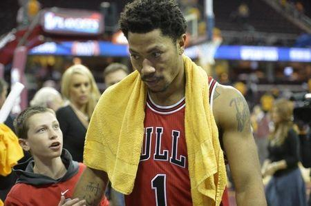 NBA: Playoffs-Chicago Bulls at Cleveland Cavaliers