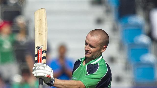 Cricket - Ireland fall short of history against West Indies