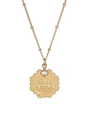 Sophia & Chloe 'Keep Calm and Carry On' Necklace