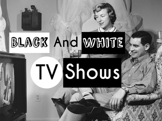 Can you name these black and white tv shows yahoo celebrity for Black and white shows