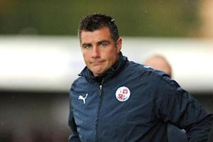 Richie Barker is not thinking about promotion