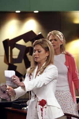 "Faith Ford and Kelly Ripa ABC's ""Hope & Faith"" <a href=""/baselineshow/4670435"">Hope & Faith</a>"