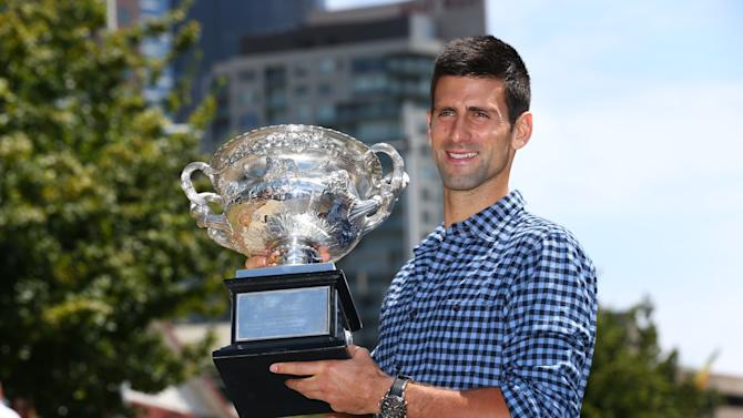 Australian Open 2015 - Men's Champion Photocall