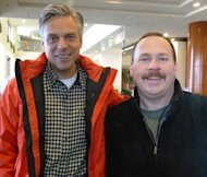 Jon Huntsman and Harry