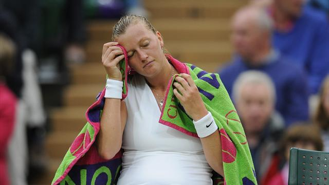Wimbledon - Flipkens dumps out Kvitova, meets Bartoli in semi
