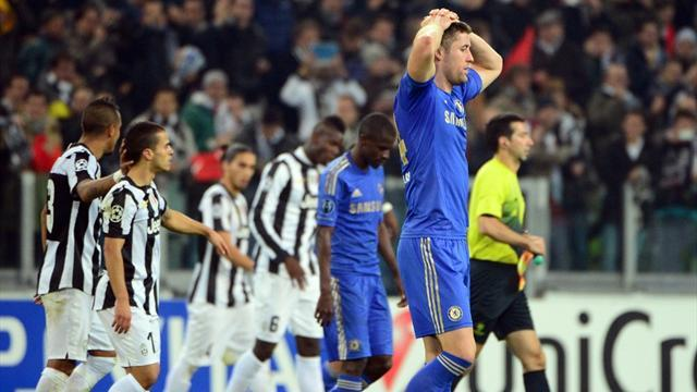 Champions League - Tuesday review: Barca through, Chelsea walk tightrope