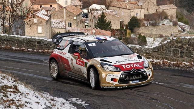 WRC - Loeb stretches lead in Monte Carlo