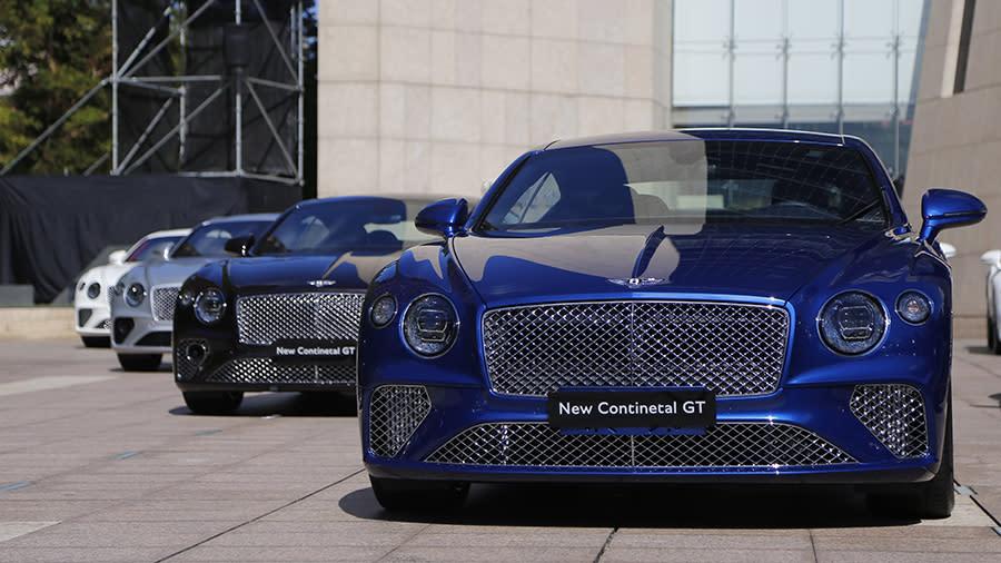 極致豪華 BENTLEY全新第三代Continental GT首批抵台
