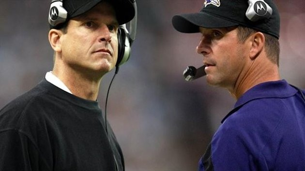 2013 Super Bowl Jim Harbaugh John Harbaugh