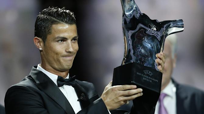 Champions League - Ronaldo voted Europe's best ahead of Robben, Neuer