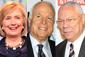 Hillary Clinton, Sen. John McCain and General Colin Powell to Host 'Mandela' Screening