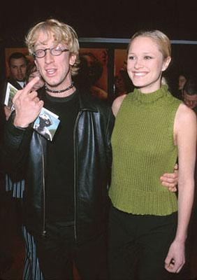 """Premiere: Andy Dick and his """"gal pal"""" at the premiere of 20th Century Fox's The Beach - 2/2/2000"""
