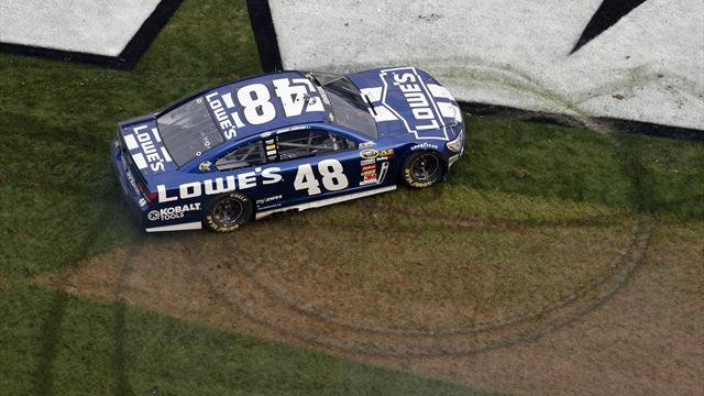 Motorsports - Johnson wins Daytona 500, Patrick eighth