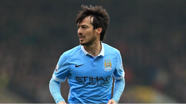 David Silva é desfalque do Manchester City contra o Real Madrid