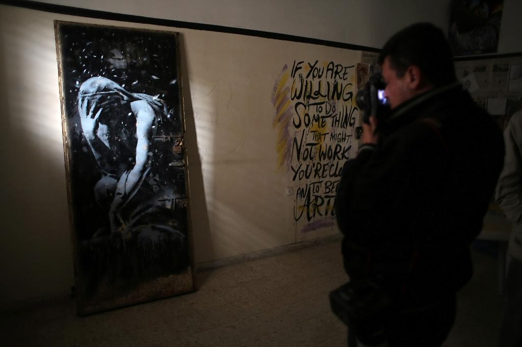 Gazan 'tricked' into selling Banksy graffiti for a song