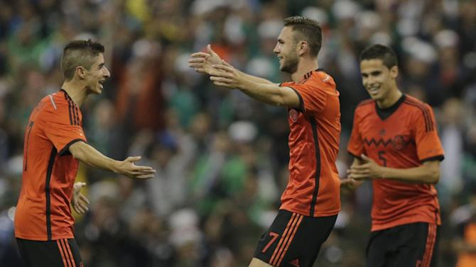 International friendlies - Layun double as Mexico beat Israel but Corona hurt