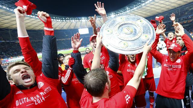 Bundesliga - Bayern Munich win league with seven games to spare