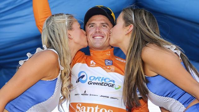 Cycling - Gerrans draws first blood at Tour Down Under