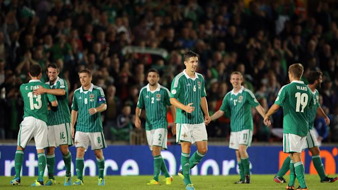 Soccer - 2014 FIFA World Cup Qualifying - Group F - Northern Ireland v Russia - Windsor Park
