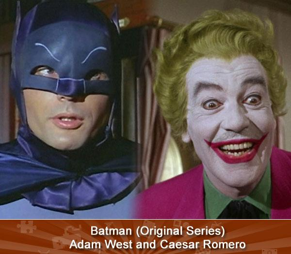 Batman (Original Series) -- Adam West and Caesar Romero