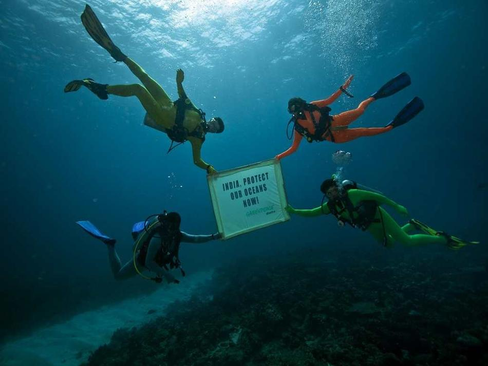 Travel Andaman Ocean Greenpeace