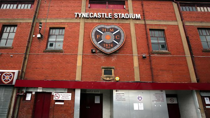Soccer - Tynecastle Filers