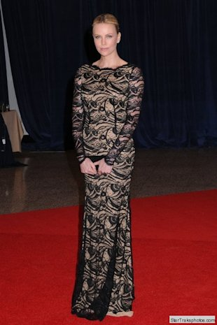 charlize theron correspondents dinner