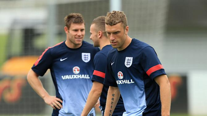 Soccer - FIFA World Cup Qualifying - Group H - England v Moldova - England Training and Press Conference - St Georges Park