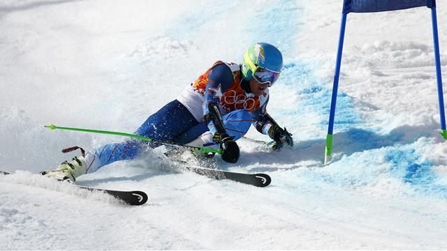 Alpine Skiing - Ligety wins giant slalom gold