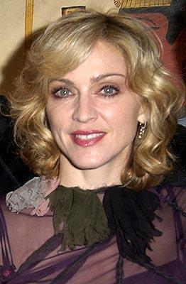 Madonna at a Los Angeles screening of Screen Gems' Swept Away