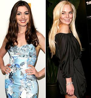 Anne Hathaway: I'm More Like Lindsay Lohan Than People Realize