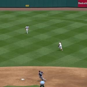 Wong's amazing diving catch